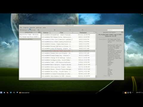 Videocatcher - RSS Video Aggregator - Kubuntu 10.10