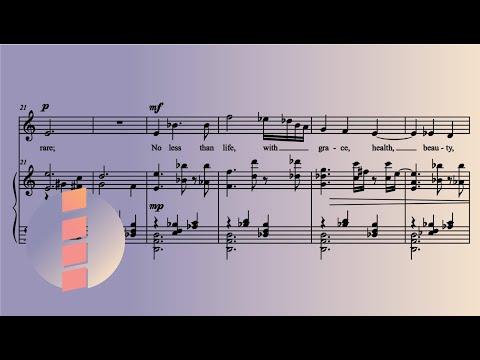 "Clio Montrey - Goneril's Aria: ""Sir, I Love You More..."" [w/ Score]"