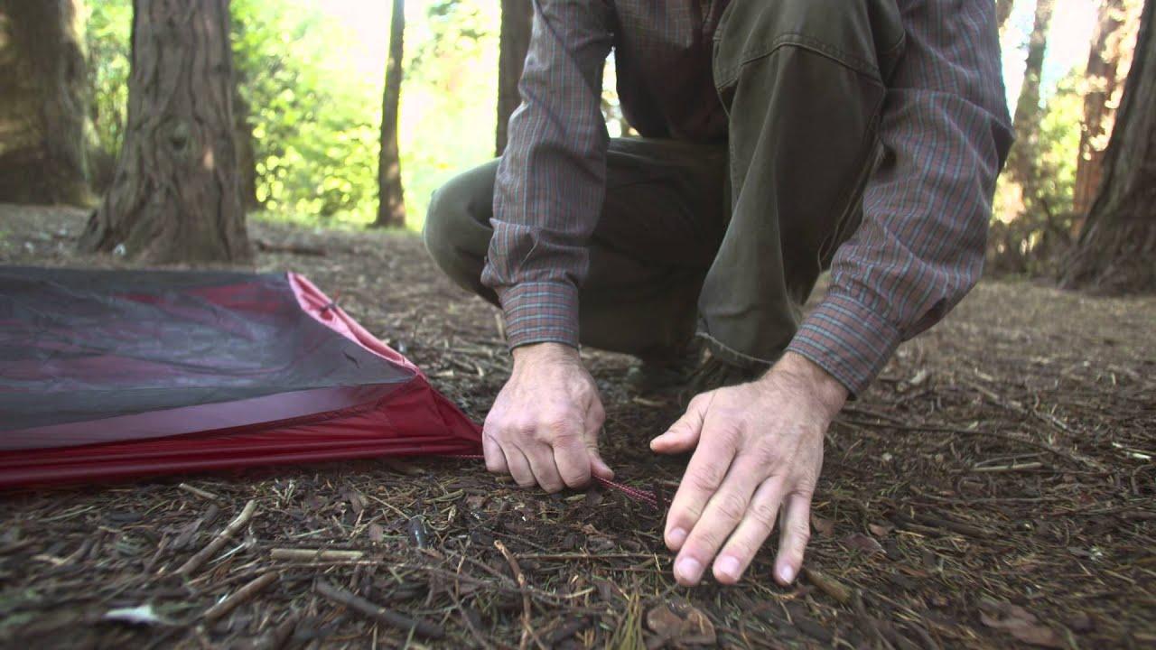 & Carbon Reflex™ Ultralight Tent - YouTube
