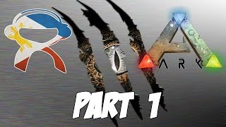 Ark Survival Evolved #PinoyArker | Part 1 | BULOL-osaurus!! - Pinoy Ark Gameplay