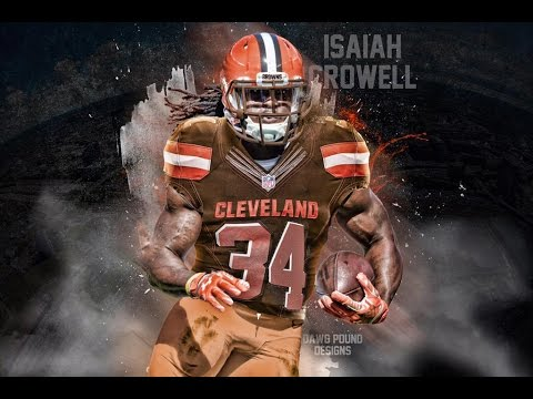 new style 0ab58 dd860 Cleveland Browns RB: Isaiah Crowell Hightlights!