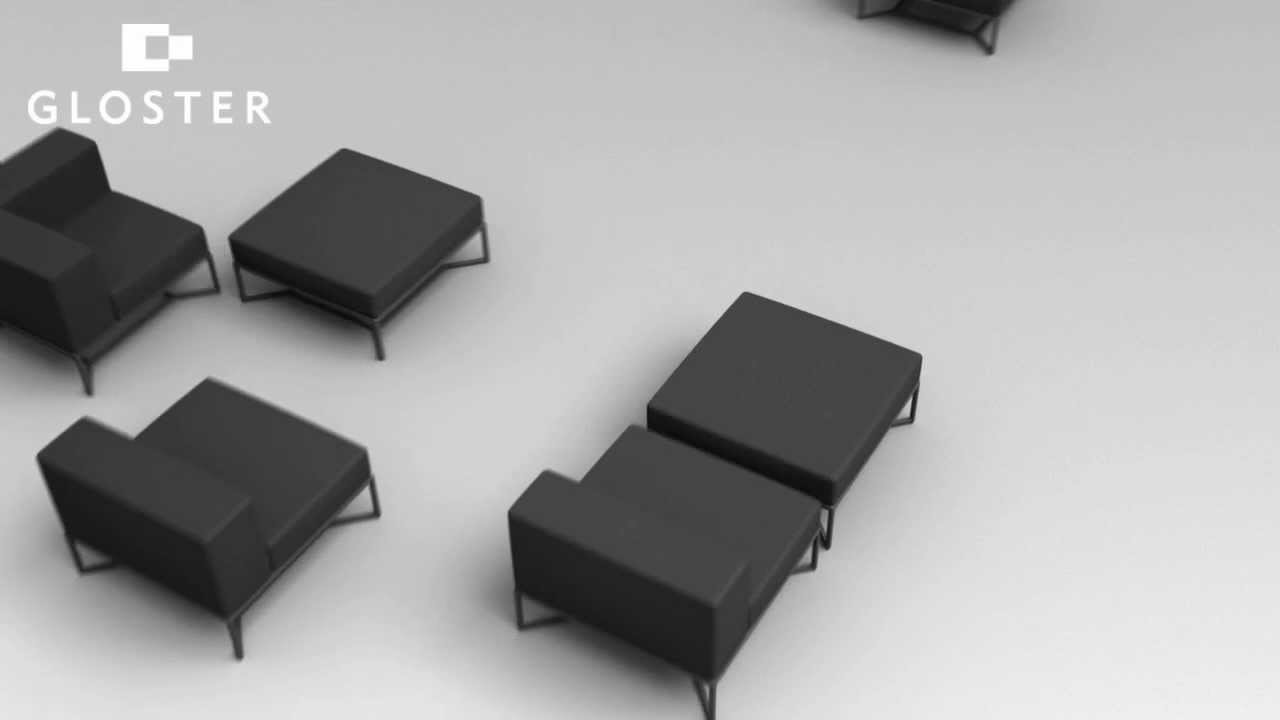 Gloster Bloc Outdoor Furniture - YouTube
