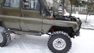 УАЗ V8 4.2 с двигателем от Шишиги ГАЗ66