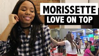 Morissette - Beyonce LOVE ON TOP (Cover) - Reaction!