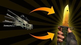 How to go from SAFARI MESH to M9 BAYONET LORE!