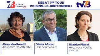 Municipales 2020. Voisins-le-Bretonneux. Débat du 1er tour.