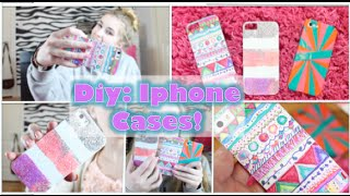 Diy: Iphone Cases! Quick & Cute! Thumbnail