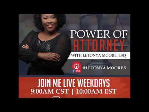 Power of Attorney Black History Video