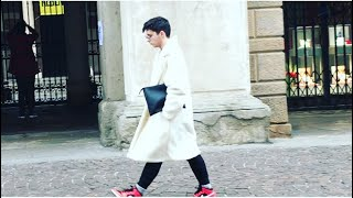 почти весна что надели итальянские модницы обувь