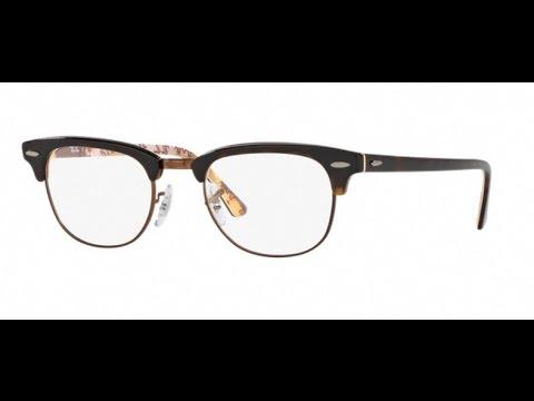 b8eba7f43ca Ray Ban CLUBMASTER 5154 Eyeglasses 5650 Havana - YouTube