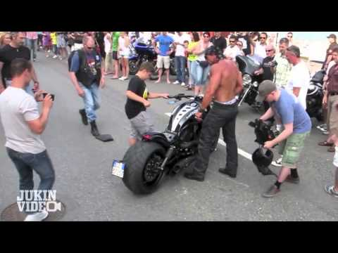 No Shirt, No Problem | Harley Rider CRASH