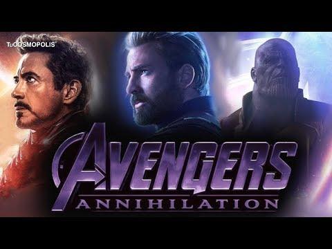 AVENGERS ANNIHILATION TRÁILER