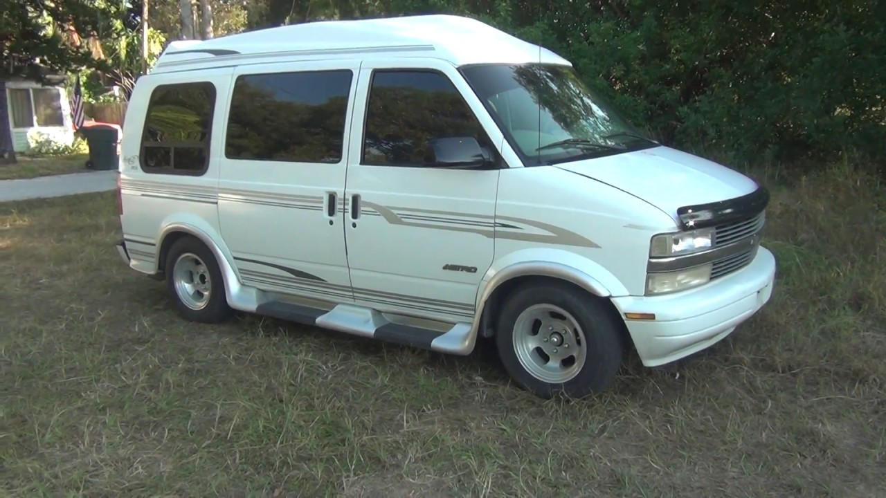 All Chevy 99 chevy express van : 1999 Chevy Astro MARK III LE Conversion - YouTube