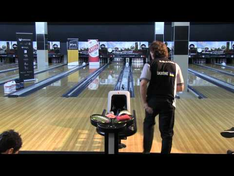 Mykhaylo Kalika vs Jason Belmonte - Men's Semi Finals 2011 Bowling World Cup South Africa