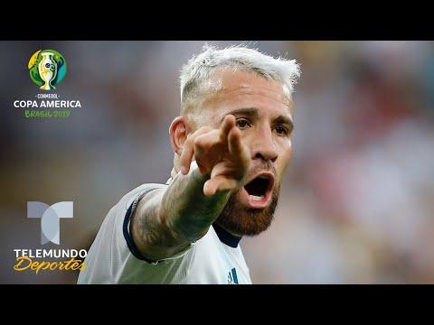 Nicolás Otamendi habla del rendimiento de Argentina en la Copa América | Telemundo Deportes