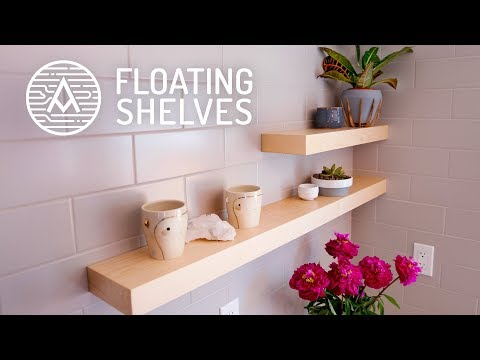 how-make-modern-floating-shelves