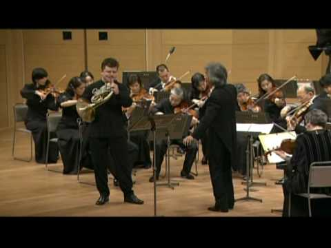 Radek Baborák, Seiji Ozawa, MCO : W.A.Mozart Horn Concerto No 1 in D major KV 412