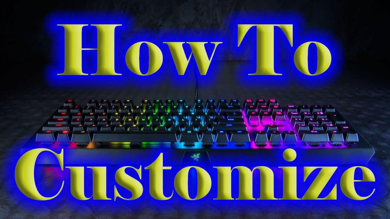 How to Customize your Razer Chroma Keyboard | Razer Synapse 2