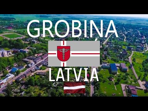 #GROBINA  CITY OF #LATVIA / WITH DRONE #PHANTOM 4