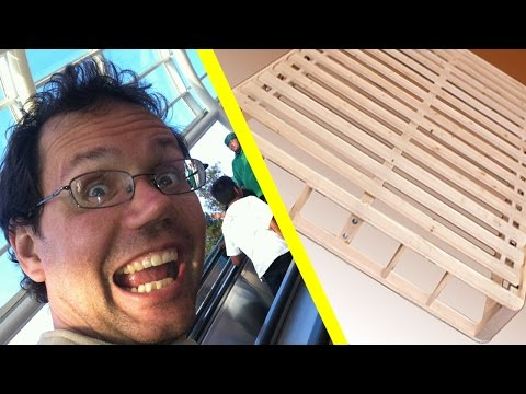 Ep. #224 Splitting a Mattress Box Foundation in Two