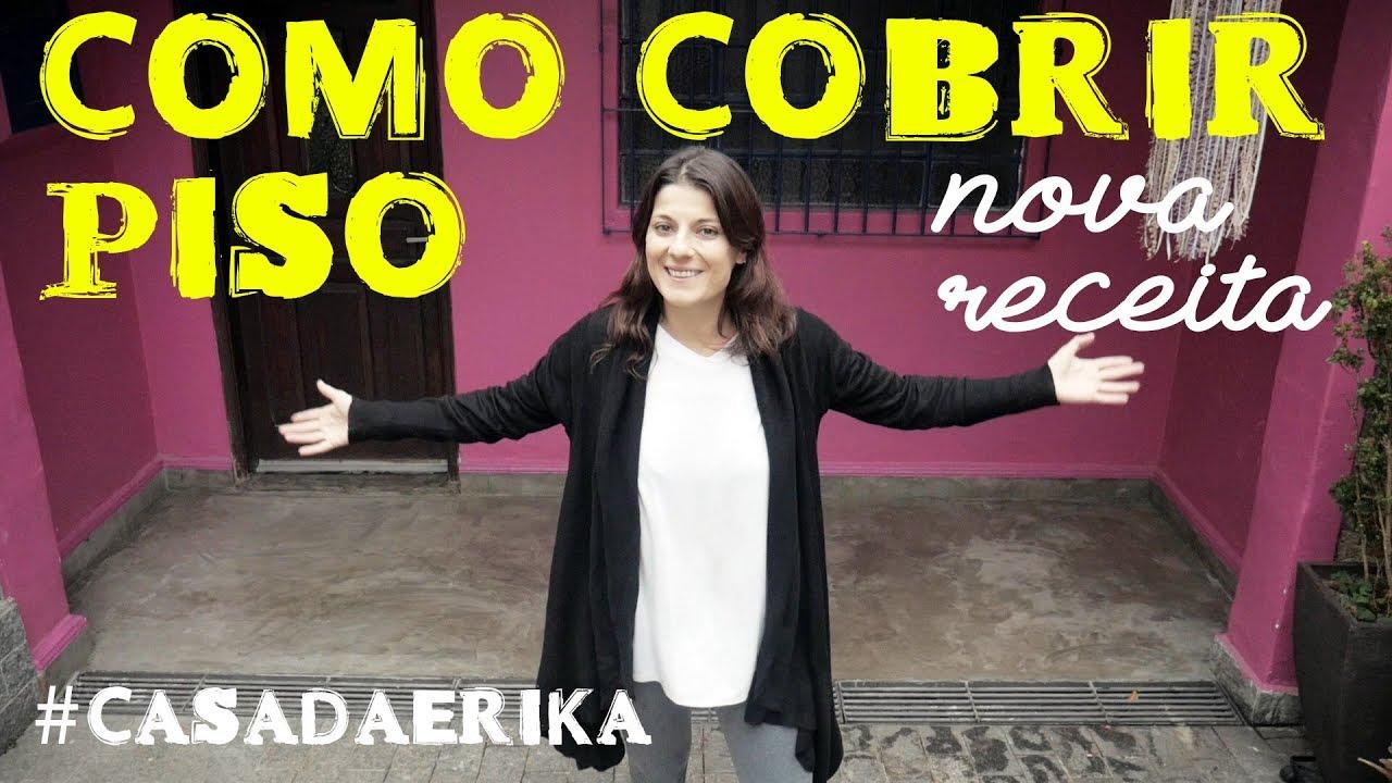 Nova receita de como cobrir piso com cimento casadaerika for Compro piso en sanxenxo