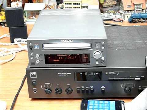 Tascam CD RW4U CDRW Recorder Burner - YouTube