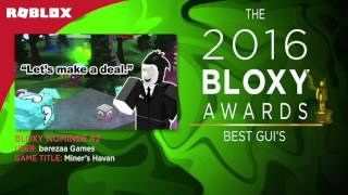 4th Annual Bloxy Awards Highlights
