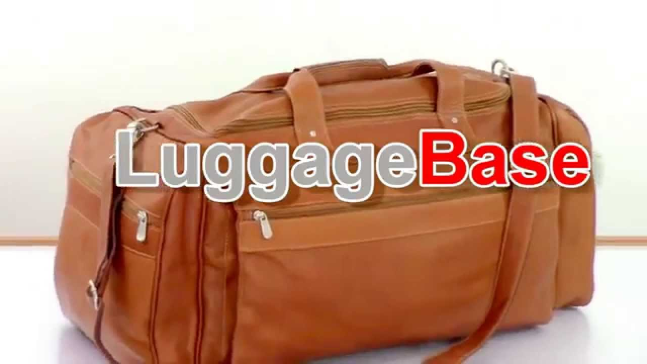 Luggage Base Video Review Of The Piel Leather Large Duffel