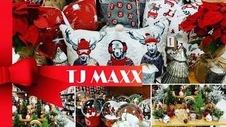 TJ MAXX 🔴 CHRISTMAS 🔴 SHOP WITH ME 🔴