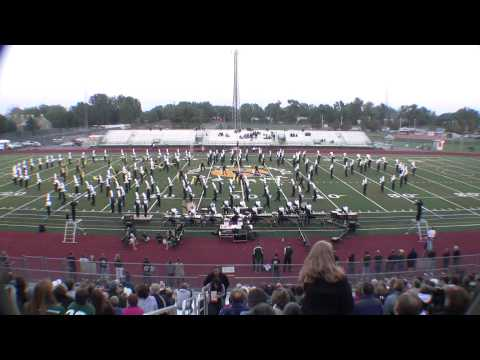 Fossil Ridge High School Marching Band, September 13th, 2012