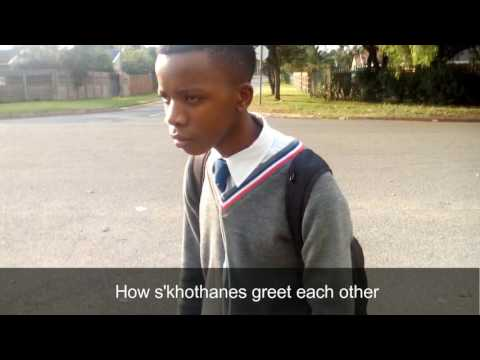 How S'khothanes (South African Black Gangsters) Greet Each Other🙈😀😂