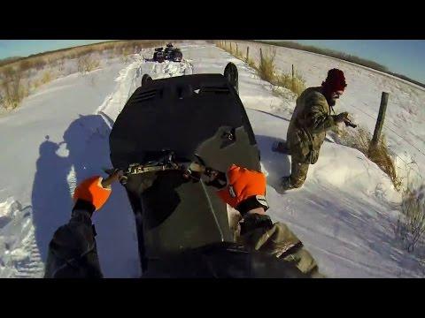 Snowmobile Go Pro Ride 1080P 60FPS SkiDoo Citation