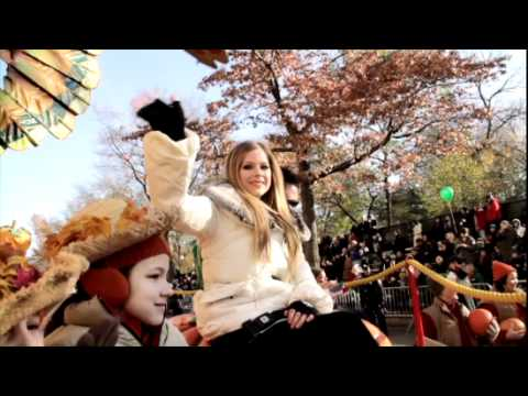 Avril Lavigne Macy's Day Parade