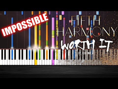 Fifth Harmony - Worth It ft. Kid Ink - IMPOSSIBLE REMIX by PlutaX - Synthesia