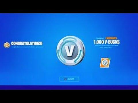1000 V Bucks Free (Multumim Fortnite)