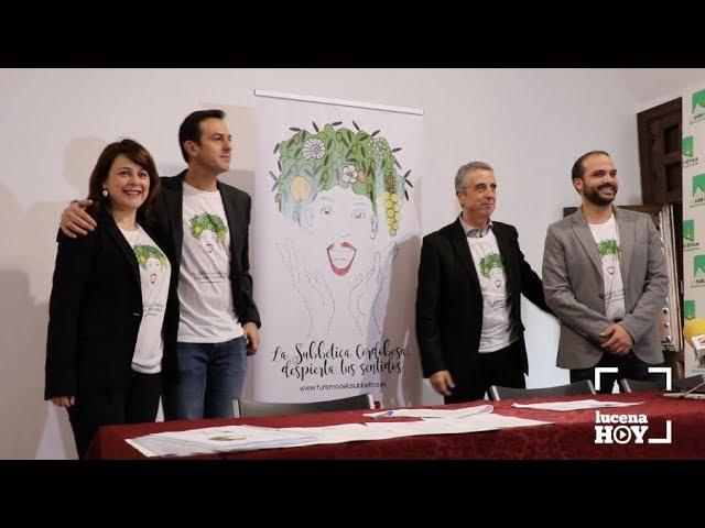 VÍDEO: La Subbética se va a FITUR para enseñar a vivir nuestros pueblos con los cinco sentidos