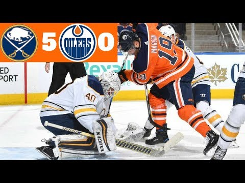 Buffalo Sabres VS Edmonton Oilers Recap l January 23rd 2018  l BUF Wins 5-0