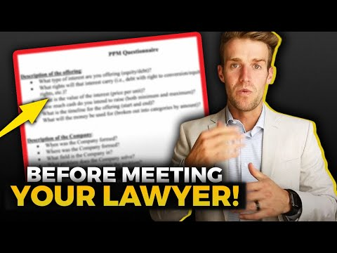 Do This Before You Meet With A Lawyer for your Investment Fund