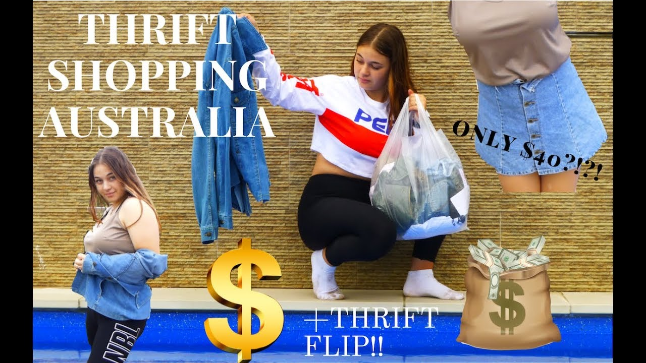 COME THRIFT WITH ME | Australian Thrift | Thrift Flip | Look Book