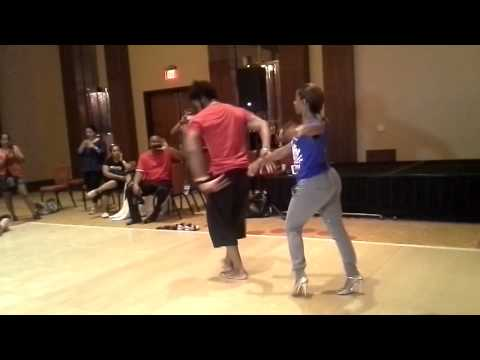 Terry & Cecile Partnerwork On2 Workshop at BIG Salsa Festival 2014