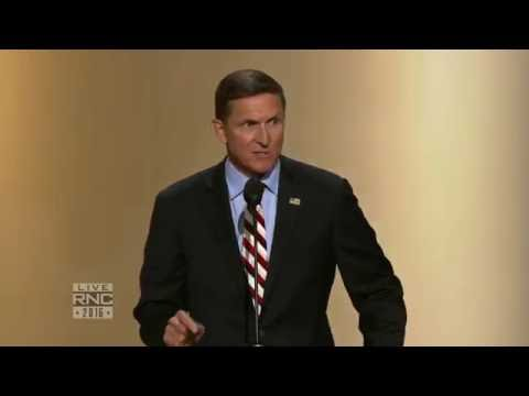 Lt. Gen. Michael Flynn | 2016 Republican National Convention