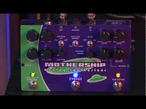 Pigtronix MotherShip demo by Carl Roa