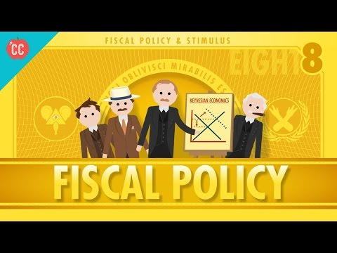 Thumbnail: Fiscal Policy and Stimulus: Crash Course Economics #8