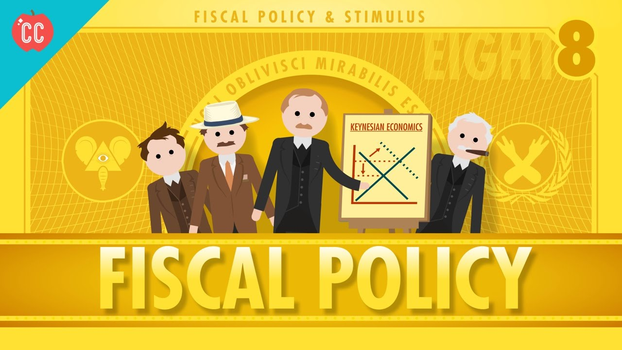 Fiscal Policy And Stimulus: Crash Course Economics #8   YouTube