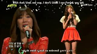Davichi - Just The Two Of Us LIVE [eng sub + roman] - Stafaband
