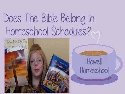 Does The Bible Belong in Homeschool? Our Take On Bible Curriculum!
