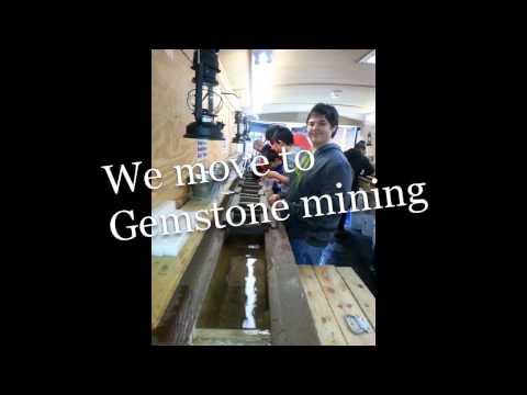 Mobile Gemstone Mining