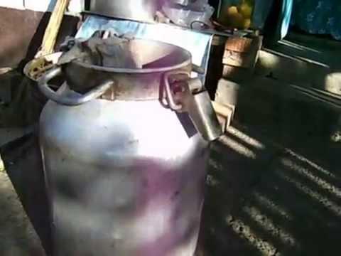 Рецепт Как легко сделать самогон из виноградной выжимки Видео 1