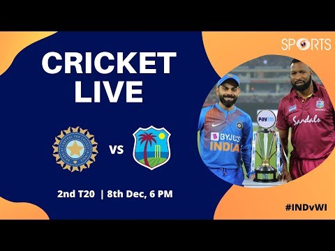 Cricket Live | India Vs West Indies 2nd T20