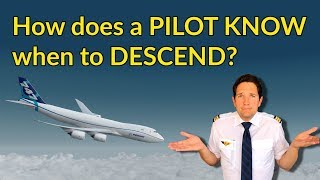 How does a PILOT KNOW when to DESCEND? Descent planning explained by CAPTAIN JOE thumbnail